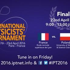 Final of IPT 2016!